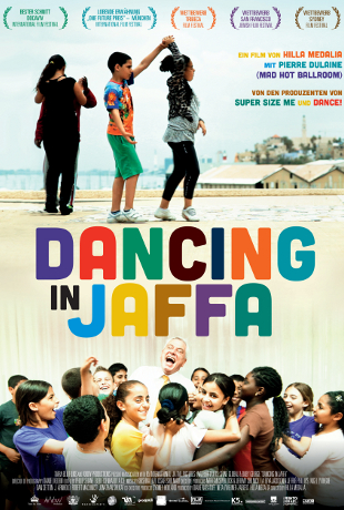 Dancing in Jaffa poster
